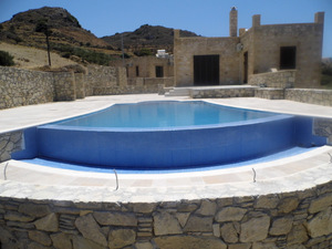 COMPLETED SWIMMING POOL